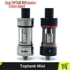 Single TOPTANK MINI Atomizer  Vape Tanks With  SSOCC 0.5 Coils 510 Thread Electronic Cigarettes Atomizer