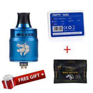 Ammit MTL RDA Atomizer (Get Shield Cig Boss Device Organic Cotton and  NI80 Prebuilt coil-100pcs for free)