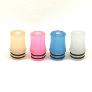 10pcs Luminous fluorescent 510 Resin Mouthpiece Vape Drip Tips for Trinity alpha Vaporizer Tank Atomizer Vapepod kit