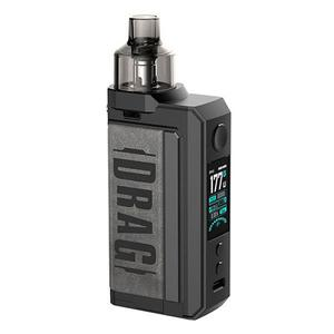 Drag Max 177W VW Pod System Vape  Kit - 5~177W, 2 x 18650, 4.5ml, 0.15 / 0.2ohm - Vintage Grey