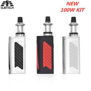 Hot sell! 100W box mod kit huge vapor 2200mah bulit-in battery LED Screen Smoke Vaper Electronic Cigarette
