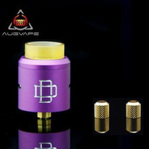 Original Druga RDA with Replacement Nuts 24mm Clamp Snag System Large Coil Space Electronic Cigarette Atomizer Tank RDA