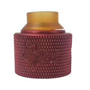 Shot  Style 30mm RDA (Knurled) - Red