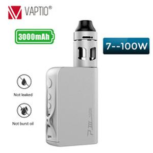 Ship from UK!   P3 Electronic cigarette kit with 3000mah box mod VW/TC Battery Vaporizer kit 2ml Top Filling Atomizer