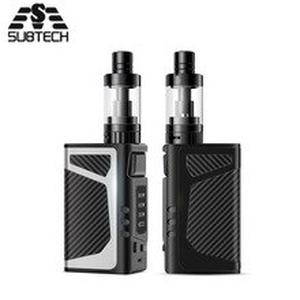 Newest SUB TWO 80w vape kit bulit-in 2000mAh Battery 3.5ml Atomizer Electronic Cigarette temperature control huge vaporizer