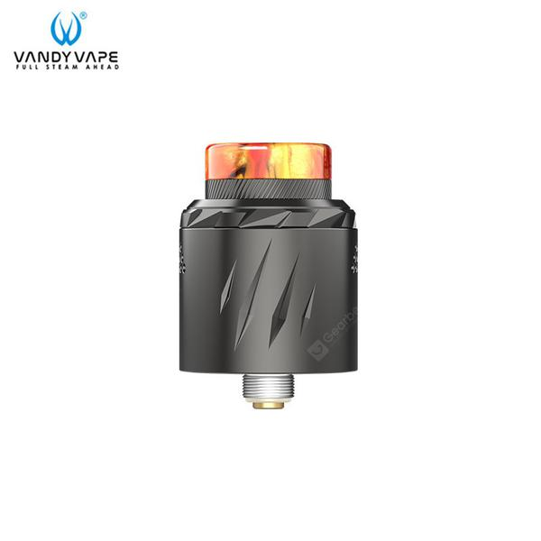 Rath RDA Atomizer 2ml Capacity Various Airflow aAdjustment Methods Supports Single/Dual Heating Wire Vandyvape Tank E-cigarette